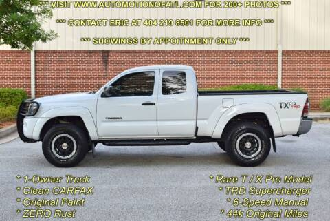 2011 Toyota Tacoma for sale at Automotion Of Atlanta in Conyers GA