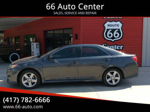 2012 Toyota Camry for sale at 66 Auto Center in Joplin MO