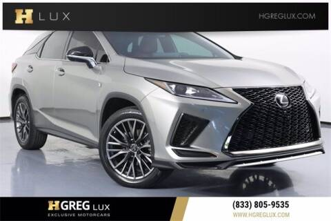 2020 Lexus RX 350 for sale at HGREG LUX EXCLUSIVE MOTORCARS in Pompano Beach FL
