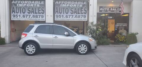 2010 Suzuki SX4 Crossover for sale at Affordable Imports Auto Sales in Murrieta CA