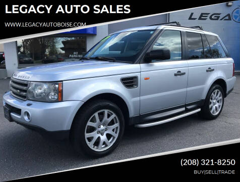 2008 Land Rover Range Rover Sport for sale at LEGACY AUTO SALES in Boise ID
