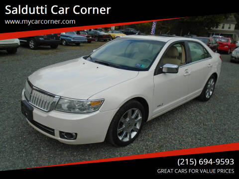 2009 Lincoln MKZ for sale at Saldutti Car Corner in Gilbertsville PA