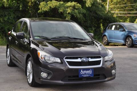 2013 Subaru Impreza for sale at Amati Auto Group in Hooksett NH