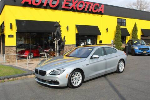 2017 BMW 6 Series for sale at Auto Exotica in Red Bank NJ