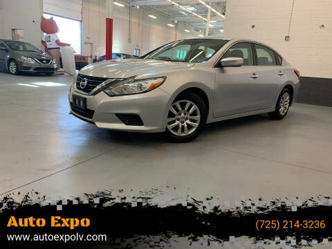 2016 Nissan Altima for sale at Auto Expo in Las Vegas NV