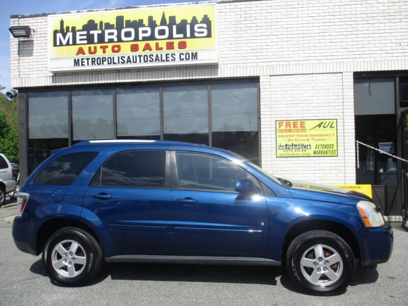 2008 Chevrolet Equinox for sale at Metropolis Auto Sales in Pelham NH