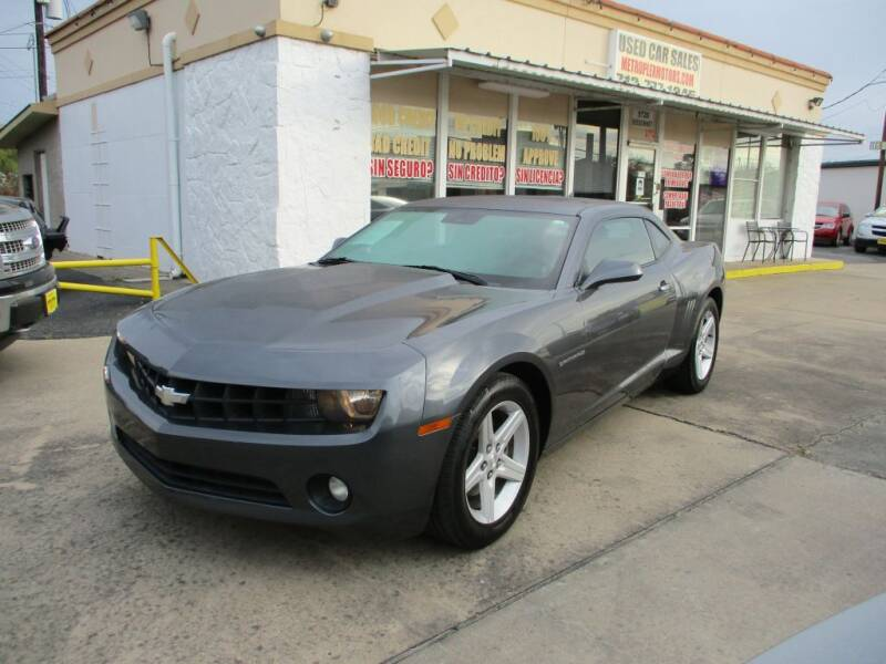 2010 Chevrolet Camaro for sale at Metroplex Motors Inc. in Houston TX