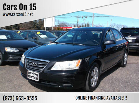 2010 Hyundai Sonata for sale at Cars On 15 in Lake Hopatcong NJ