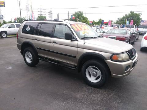 2000 Mitsubishi Montero Sport for sale at Texas 1 Auto Finance in Kemah TX