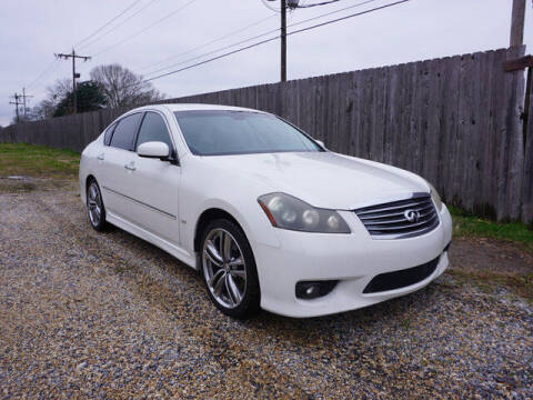 2010 Infiniti M35 for sale at BLUE RIBBON MOTORS in Baton Rouge LA