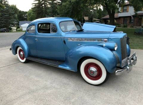 1940 Packard Business Coupe for sale at Vintage Car Collector in Glendale CA