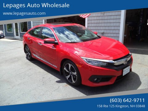 2017 Honda Civic for sale at Lepages Auto Wholesale in Kingston NH