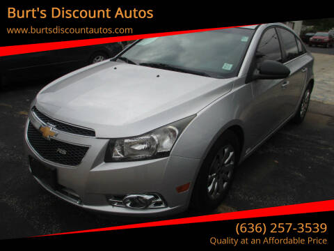 2011 Chevrolet Cruze for sale at Burt's Discount Autos in Pacific MO