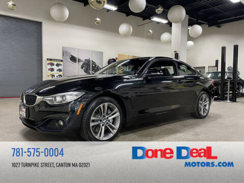 2015 BMW 4 Series for sale at DONE DEAL MOTORS in Canton MA