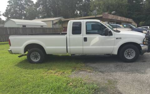 2003 Ford F-250 Super Duty for sale at Bobby Lafleur Auto Sales in Lake Charles LA
