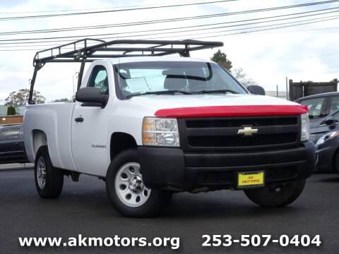 2007 Chevrolet Silverado 1500 for sale at AK Motors in Tacoma WA