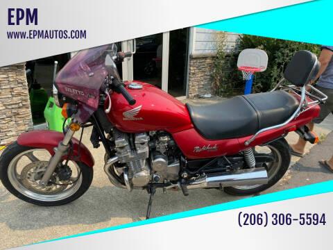1992 Honda CB750 Nighthawk for sale at EPM in Auburn WA