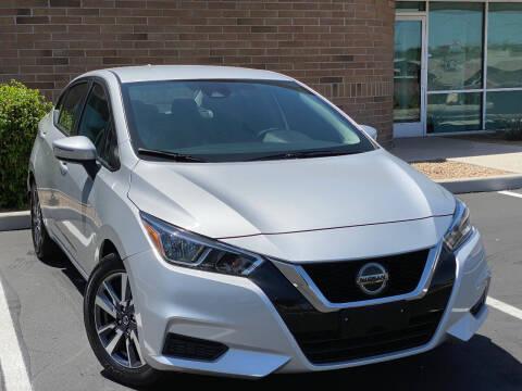 2020 Nissan Versa for sale at AKOI Motors in Tempe AZ