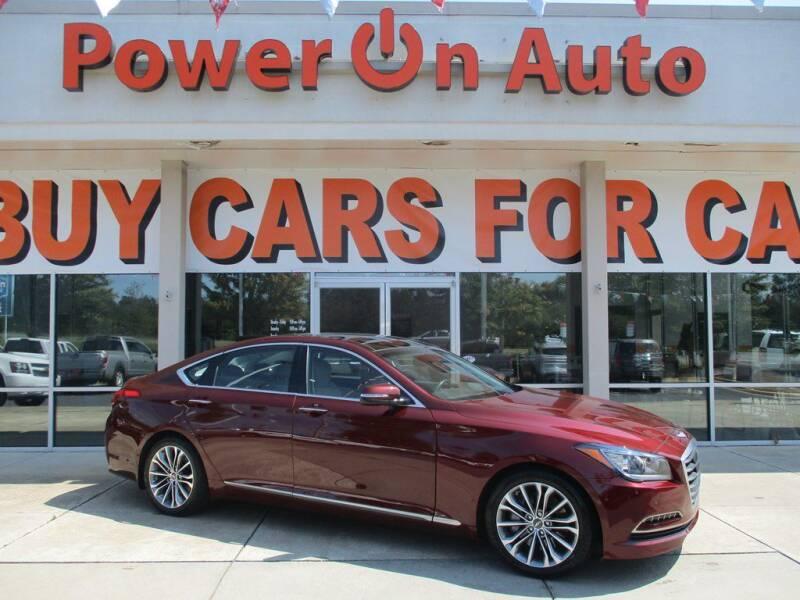 2015 Hyundai Genesis for sale at Power On Auto LLC in Monroe NC