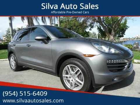 2012 Porsche Cayenne for sale at Silva Auto Sales in Pompano Beach FL