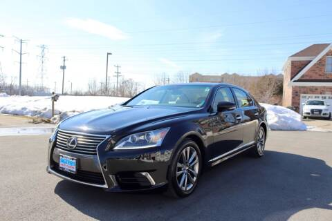 2015 Lexus LS 460 for sale at Siglers Auto Center in Skokie IL