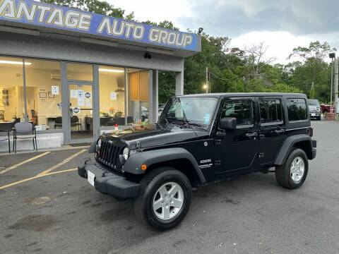 2014 Jeep Wrangler Unlimited for sale at Vantage Auto Group in Brick NJ