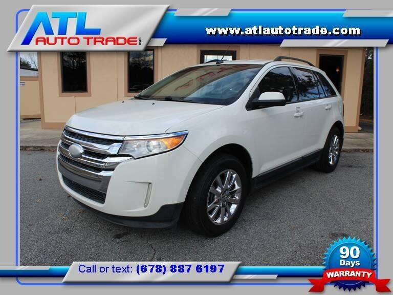 2012 Ford Edge for sale at ATL Auto Trade, Inc. in Stone Mountain GA