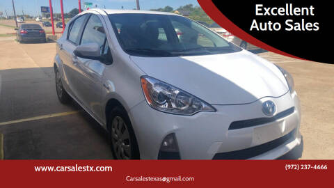 2013 Toyota Prius c for sale at Excellent Auto Sales in Grand Prairie TX