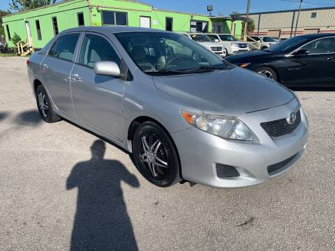 2010 Toyota Corolla for sale at Marvin Motors in Kissimmee FL