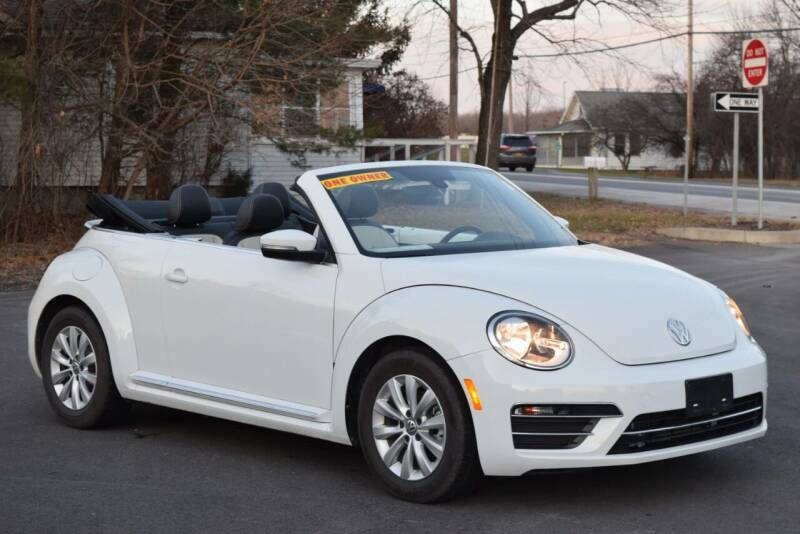2017 Volkswagen Beetle for sale at GREENPORT AUTO in Hudson NY