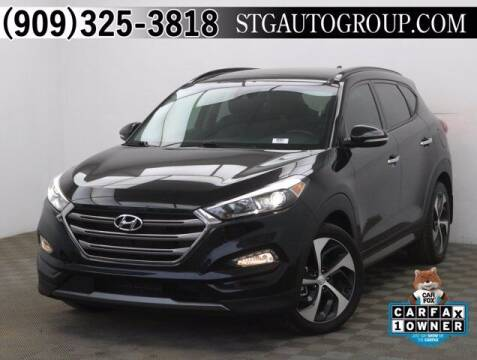 2016 Hyundai Tucson for sale at STG Auto Group in Montclair CA