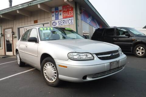 2001 Chevrolet Malibu for sale at 777 Auto Sales and Service in Tacoma WA