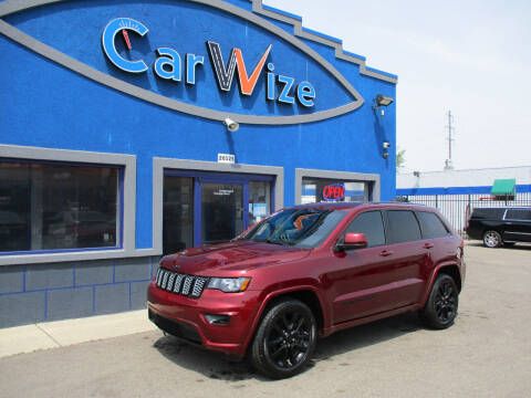 2017 Jeep Grand Cherokee for sale at Carwize in Detroit MI