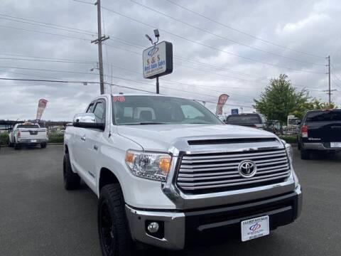 2016 Toyota Tundra for sale at S&S Best Auto Sales LLC in Auburn WA