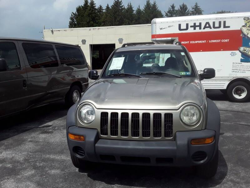 2003 Jeep Liberty for sale at Dun Rite Car Sales in Downingtown PA