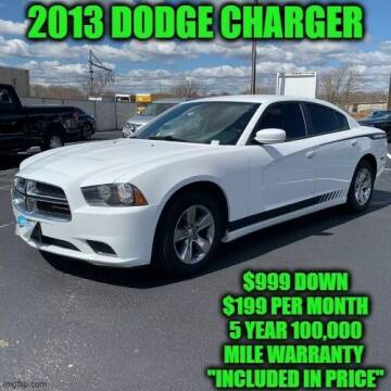 2013 Dodge Charger for sale at D&D Auto Sales, LLC in Rowley MA