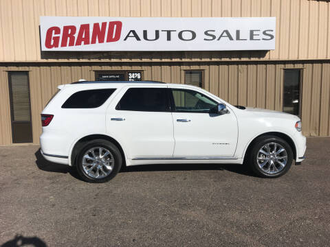 2020 Dodge Durango for sale at GRAND AUTO SALES in Grand Island NE