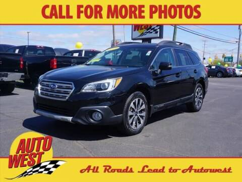 2015 Subaru Outback for sale at Autowest of Plainwell in Plainwell MI
