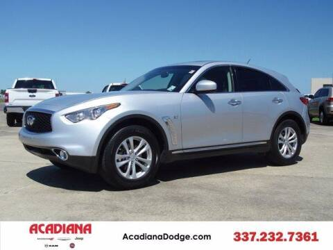 2017 Infiniti QX70 for sale at ACADIANA DODGE CHRYSLER JEEP in Lafayette LA