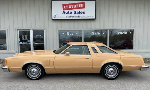 1979 Ford Thunderbird for sale at Certified Auto Sales in Des Moines IA
