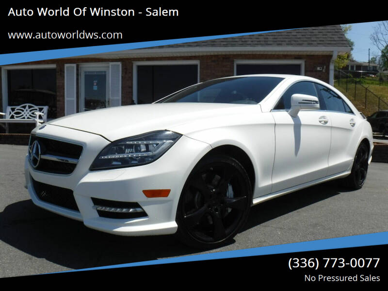 2014 Mercedes-Benz CLS for sale at Auto World Of Winston - Salem in Winston Salem NC