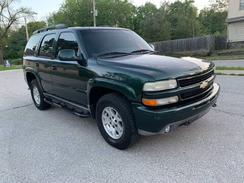 2001 Chevrolet Tahoe for sale at Nice Cars in Pleasant Hill MO