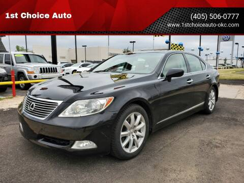 2007 Lexus LS 460 for sale at 1st Choice Auto L.L.C in Oklahoma City OK