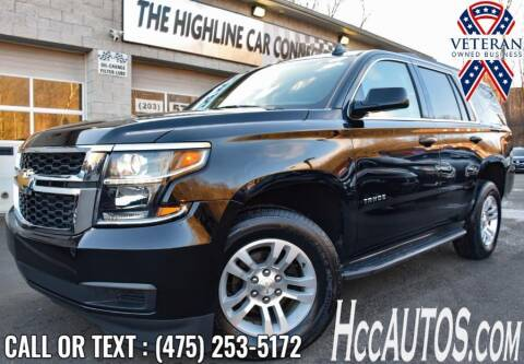 2019 Chevrolet Tahoe for sale at The Highline Car Connection in Waterbury CT