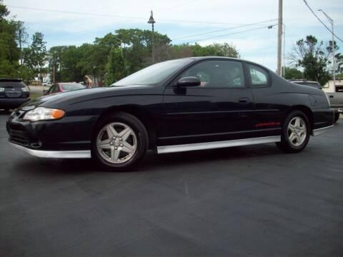 2002 Chevrolet Monte Carlo for sale at Whitney Motor CO in Merriam KS