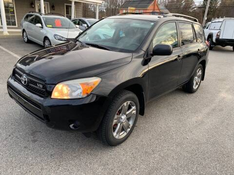 2008 Toyota RAV4 for sale at Broadway Motor Sales and Auto Brokers in North Chelmsford MA