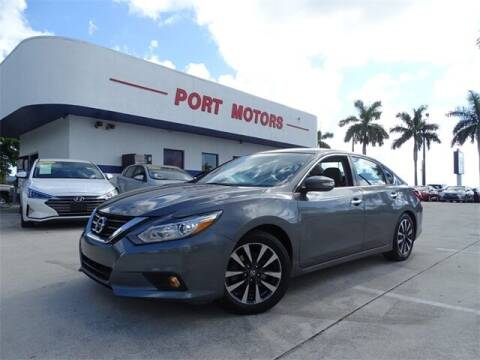 2017 Nissan Altima for sale at Automotive Credit Union Services in West Palm Beach FL