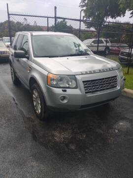 2008 Land Rover LR2 for sale at LAND & SEA BROKERS INC in Pompano Beach FL