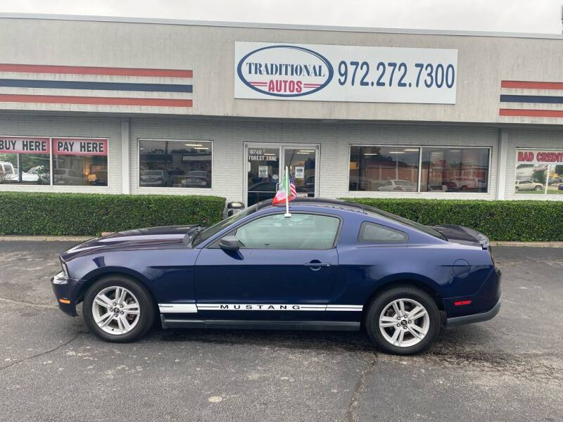2010 Ford Mustang for sale at Traditional Autos in Dallas TX