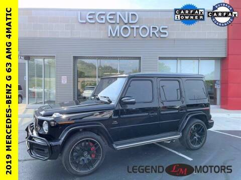 2019 Mercedes-Benz G-Class for sale at Legend Motors of Waterford in Waterford MI